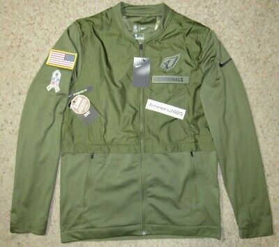 online store 83569 4043b NWT NIKE ELITE Hybrid Salute to Service Jacket ARIZONA CARDINALS Sz Medium  STS