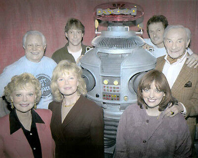 """LOST IN SPACE 30 YEAR REUNION TELEVISION 8x10"""" HAND COLOR TINTED PHOTOGRAPH"""