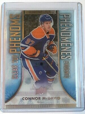 16-17 UD Tim Horton's Clear Cut Phenoms Connor McDavid