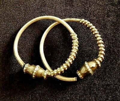 Silver Rare earrings from Oman Bedouin Ware (21)