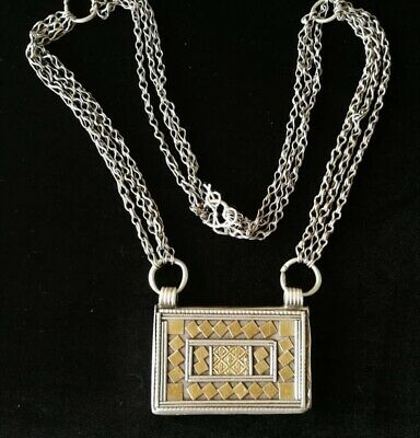 Silver Rare Necklaces from Oman Bedouin Ware (628)