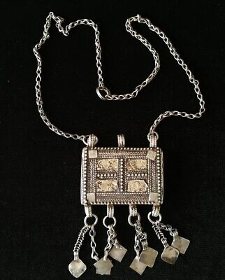 Silver Rare Necklaces from Oman Bedouin Ware (605)