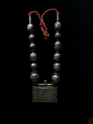 Silver Rare Necklaces from Oman Bedouin Ware (623)