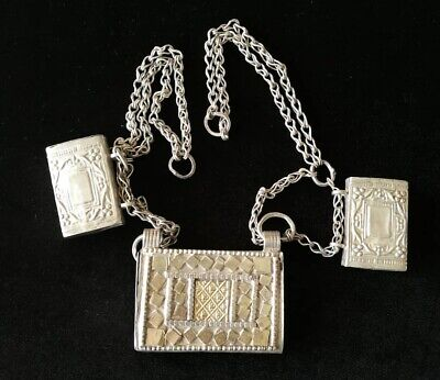 Silver Rare Necklaces from Oman Bedouin Ware (603)