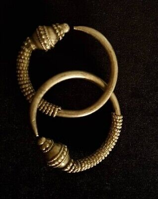 Silver Rare earrings from Oman Bedouin Ware (15)