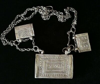 Silver Rare Necklaces from Oman Bedouin Ware (627)