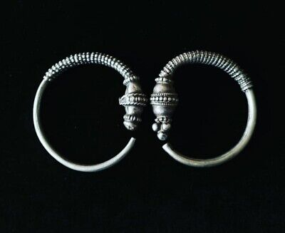 Silver Rare earrings from Oman Bedouin Ware (6)