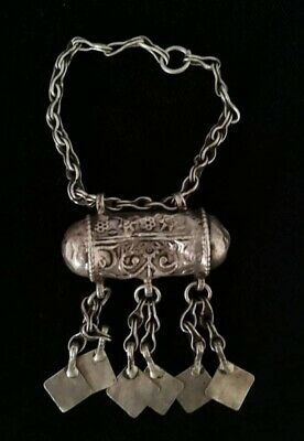 Silver Rare Necklaces from Oman Bedouin Ware (630)
