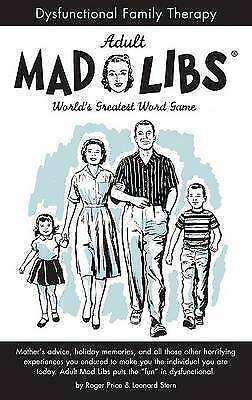 Dysfunctional Family Therapy (Adult Mad Libs), Stern, Leonard,Price, Roger, Acce