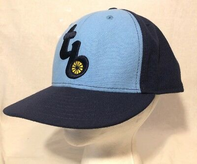 best sneakers 8d0cd 88577 MLB Tampa Bay Rays New Era TB Retro Home 59FIFTY Fitted 7 5 8 Baseball