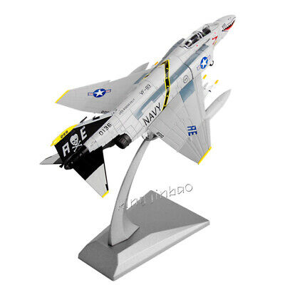 1:100 Diecast Fighter Plane Model FOR Phantom Ⅱ Fighter F-4C Toy Collection