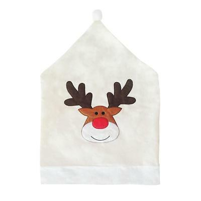 Christmas Chair Covers Dinner Table Elk Hat Xmas Decorations Ornaments Gift
