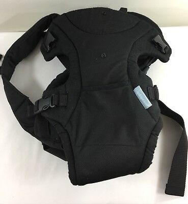 Infantino Flip Infant Baby Carrier 4 in 1 Convertible Front to Back Black
