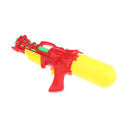 Summer Water Gun Pump Action Pistol Outdoor Squirt Soaker Kids Game Toy Red