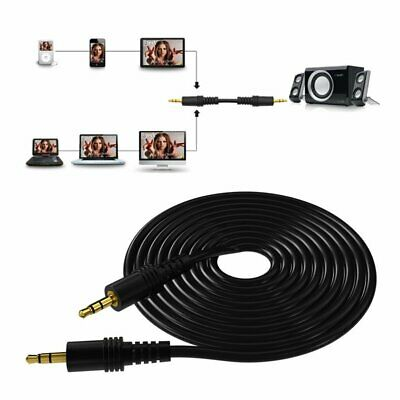 AUX Cable 3.5mm Stereo Audio Input Extension Male to Male Auxiliary Car Cord WT
