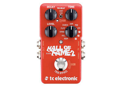 TC Electronic Hall of Fame 2 Reverb GENTLY USED
