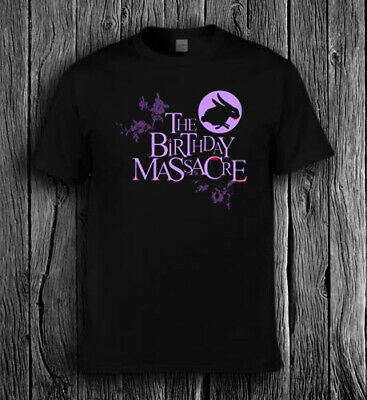The Birthday Massacre Logo T Shirt All Size Tee