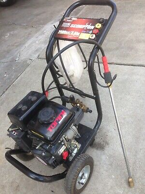 Scorpion 1400psi/2.6HP Pressure Washer