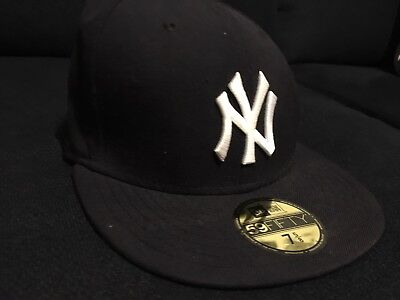 7b3c4cfb82f668 NEW ERA VINTAGE 1975 New York Yankees World Series Hat Cap 7 7/8 ...