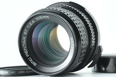 【Excellent+++】 Pentax SMC P 67 105mm F/2.4 Lens for 6x7 67 67II from Japan #2186