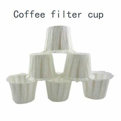 1/10/50/100/ pcs Disposable Paper Filters Cups Replacement Coffee Filters Cup