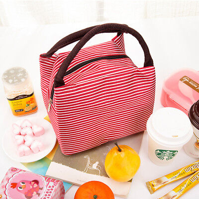 1Pc Hand Carry Picnic Cooler Bag Keep Food Fresh Thermos Bag Daily Supplies PF
