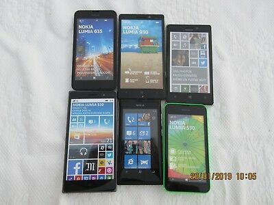 Lot de 6 TELEPHONES  PORTABLES  FACTICES Nokia