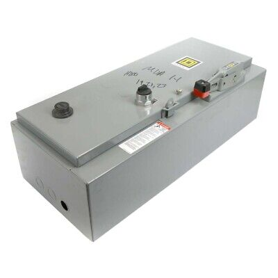 Square D 8538sbg11v02csy74 30a Type 1 600v 3p 5hp Thermocollant Déconnexion