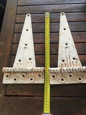 Vintage Door Hinges Barn Door Hinges X 2