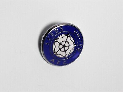Leeds United Fc - Vintage Enamel Crest Badge. - Reeves.