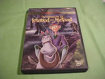 The Adventures Of Ichabod And Mr. Toad - Walt Disney Gold Collection - 2000 (23)