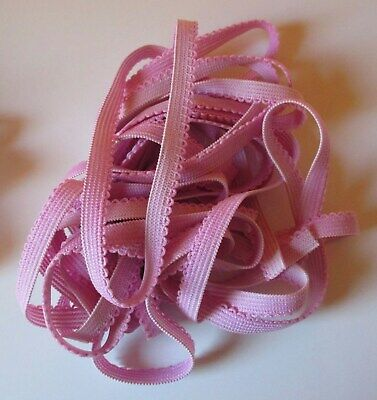 PINK KNICKER ELASTIC - 5m by 8mm