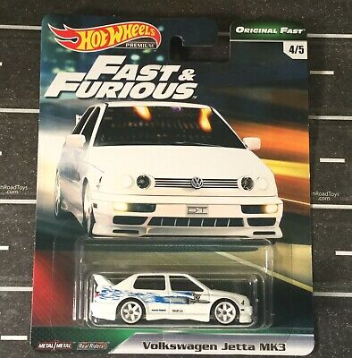 2019 Hot Wheels Premium Original Fast & Furious Volkswagen Jetta Diecast Car