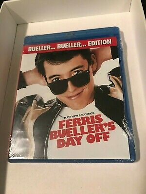 New No Slip Ferris Bueller's Day Off Blu Ray Bueller Bueller Edition