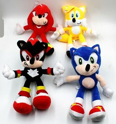 """9"""" Sonic The Hedgehog Plush Toys Movies & TV Game Action Figure Doll Kids Gift"""