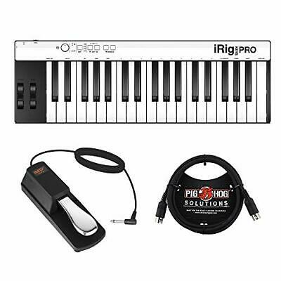 IK Multimedia iRig KEYS PRO 37-Key Controller w/ Sustain Pedal & 6ft Cable