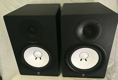 "Yamaha HS 80 speakers Monitor studio speakers. HS80m Used pair. 8"" cone"