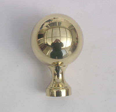 Polished Brass  Post /tube Top  Very High Quality