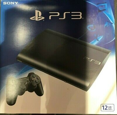 Sony PS3 PLAYSTATION 3 SUPERSLIM 12GB!!!