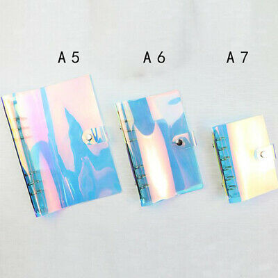 Laser Journal Diary Cover Case Notebook PVC Cover Sketchbook Case Wear Pratical