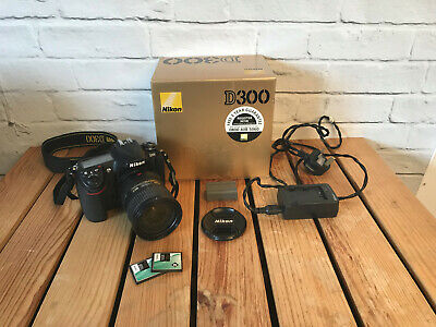 Nikon D300 12.3MP Digital SLR Camera With Nikkor AF-S 18-200mm 3.5-5.6 G ED Lens