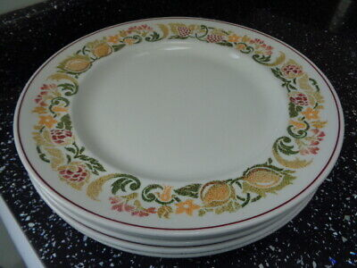 Boots Amberley Dinner Plates X 5