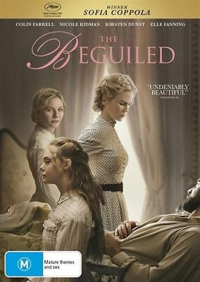 The Beguiled DVD NEW Region 2 4 5 Nicole Kidman Colin Farrell Kirsten Dunst
