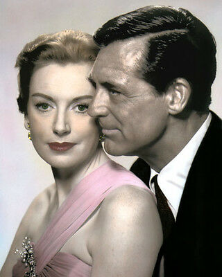 """Deborah Kerr Cary Grant An Affair To Remember 1957 8X10"""" Hand Color Tinted Photo"""