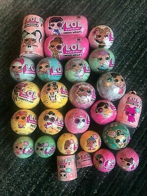 LOL SURPRISE GIFT LOT OF 26 - COMPLETE COLLECTION!100% MGA LOL Balls Series 1-5