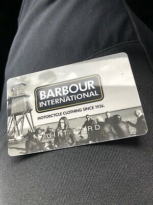 Babour Gift Card Value £170