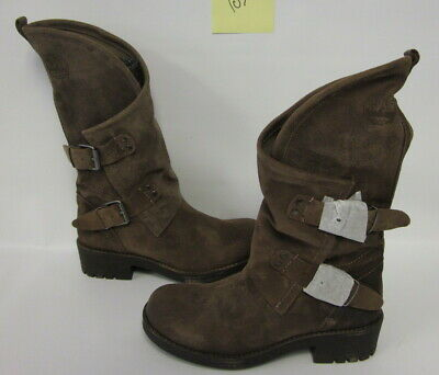 945bd4b914c COOLWAY WOMENS ALIDA Brown Motorcycle Boots Shoes 38 Medium (B,M ...