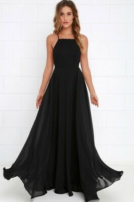 e4cd12c89e0a8 LULU'S MYTHICAL KIND of Love Maxi Dress in Black Size XS - Pre-Owned ...