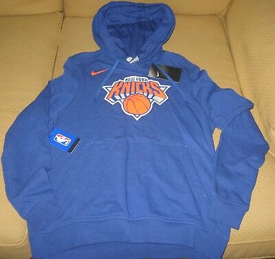 pretty nice 2b9de 2c455 NEW YORK KNICKS Nike NBA Women's Basketball Hoodie Sweatshirt 913063-495 XL  BNWT