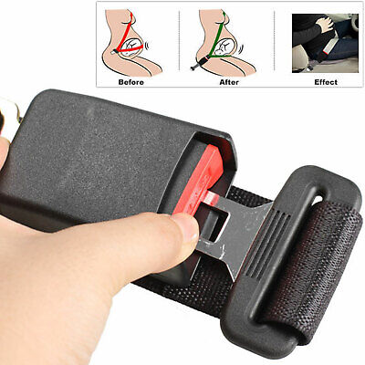 Universal Car Safety Seat Seatbelt Extension Extender Support Buckle Clip Uk